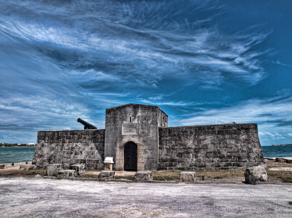 Fort Montagu. Photo by Peter Pateman, July 9 2015